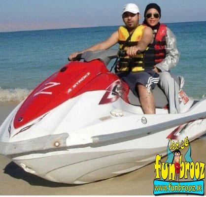 تصویری از احسان و سولماز قبل از تصادف