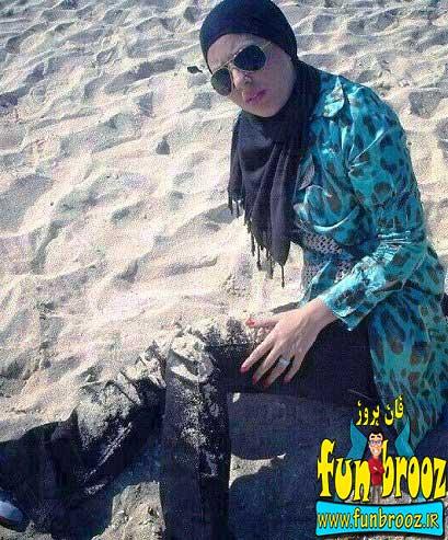 تصویری از سولماز قبل از تصادف