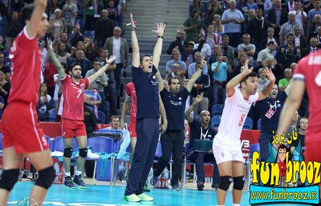 پیروزی قاطعانه ایران در برابر آرژانتین - شکست استاد