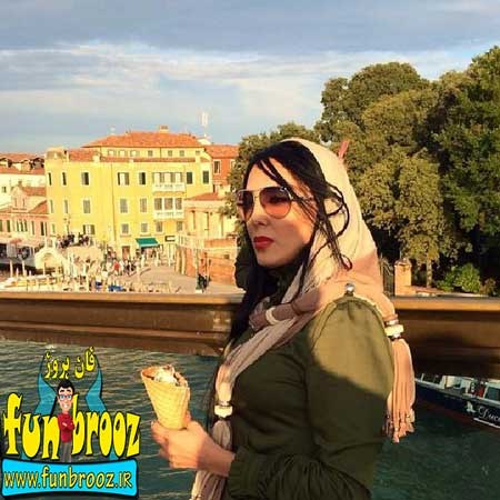 جدیدترین عکسهای لیلا بلوکات در ایتالیا 2