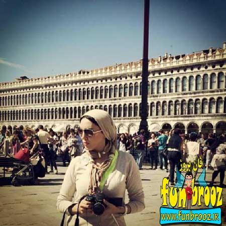 جدیدترین عکسهای لیلا بلوکات در ایتالیا 3