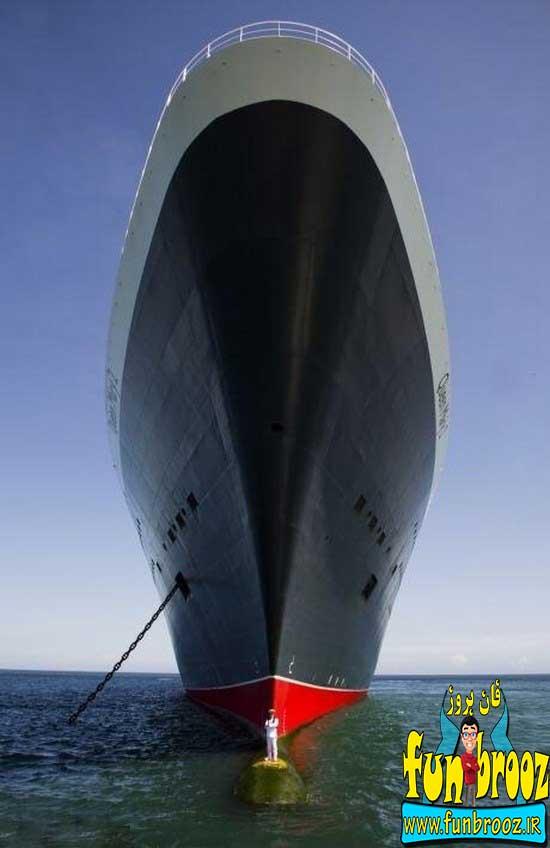 کشتی و کاپیتانش !