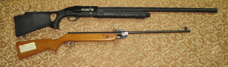 تفنگ وینچستر و تفنگ بادی