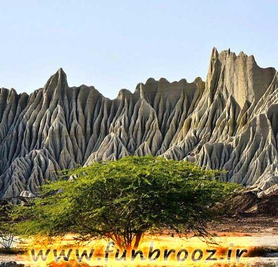 کوه های مریخی،شهرستان چابهار....