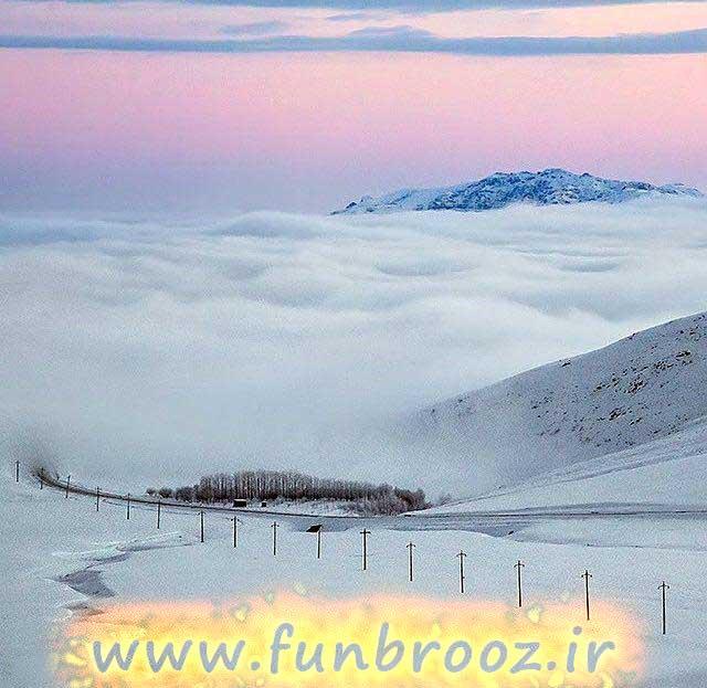 مسیر اهر به هوراند،استان آذربایجان شرقی
